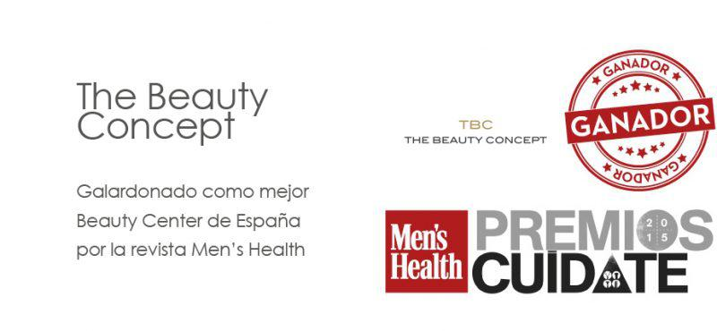 Cartel The Beauty Concept premios cuídate
